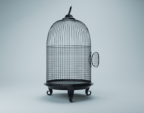 Butterfly cage 3D model
