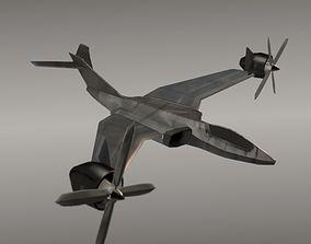 3D asset Avio copter aircraft concept