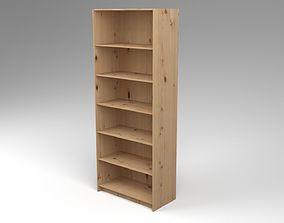 3D asset Bookcase