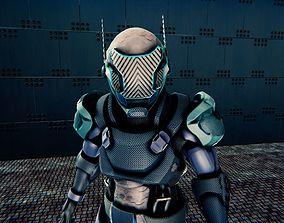 3D asset Agility Suit