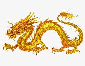 Dragon 3D STL Model for CNC Router 3D Printer Artcam