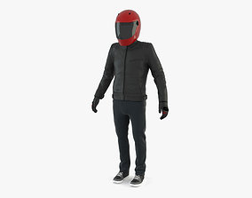 3D Urban Motorcycle Rider