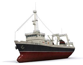 Trawler 3D asset