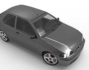 3D model Fiat Palio