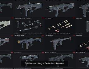 3D model Scifi Submachinegun Collection