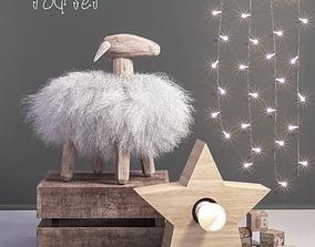 3D model Toys and decor set 3