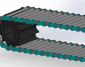 Chain and Sprocket 3D