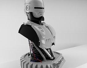 Robocop Bust for 3d Print