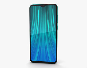 Xiaomi Redmi Note 8 Pro Green 3D model