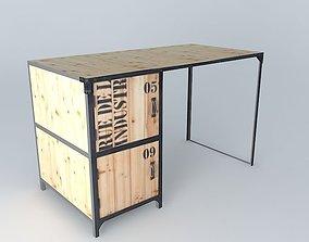 Office DOCKS Maisons du Monde 3D model