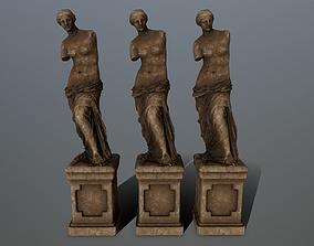 Venus de Milo 3D asset low-poly