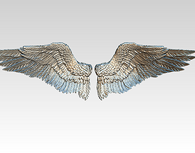 Wings pair LEFT RIGHT 3D print model