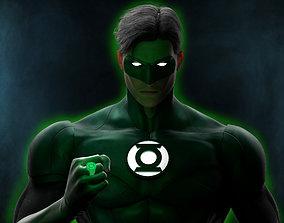 3D model Green Lantern - Hal Jordan