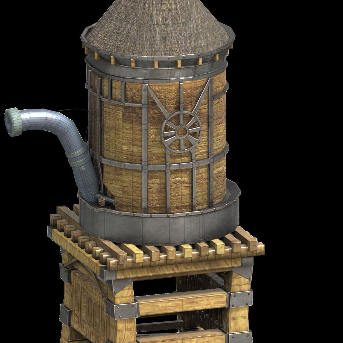 Western watertank