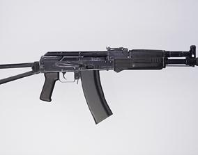 3D asset AK 102 Cal 5 56x45