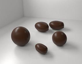 Milk Chocolate Drop 3D