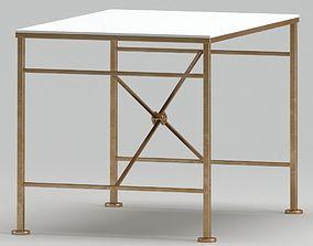3D Modern white table