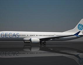 3D model Gecas boeing 737 max 10