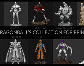 3D print model 10 FILES DRAGON BALL COLLECTION