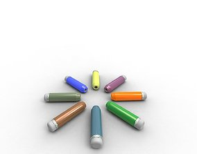 appropriate Short pencil creative use device 3D Model