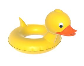 3D Swimming ring duck