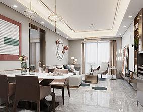 Guest restaurant living-room 3D model