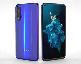 3D model Huawei Honor 20