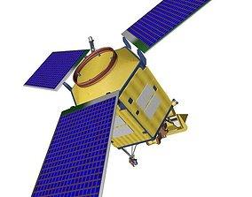 Sentinel 5-P - ESA pollution monitoring 3D model