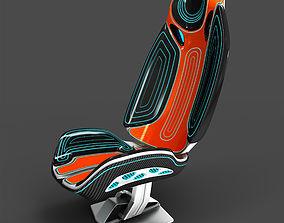 3D Futuristic sport seat model