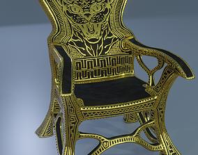Bastet throne 3D model