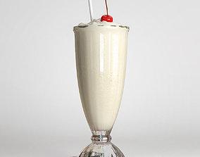 Milkshake 3D model party