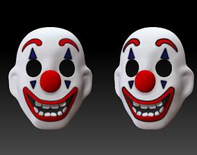 Joker 2019 Mask Joaquin Phoenix 3D Print