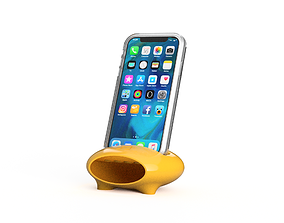 Phone Stand Speaker 3D printable model