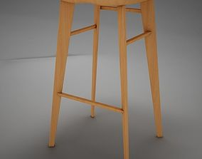 3D model Modern kitchen chair