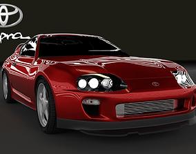 3D model toyota Toyota Supra