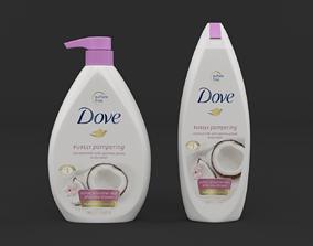 Dove Body Wash 3D