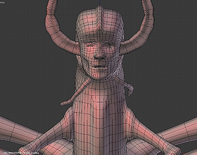 3D Insectoid Creature BASE MESH