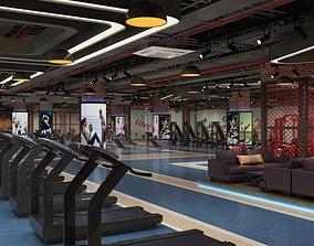 3D Gym room