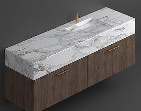 Marble sink 3D model