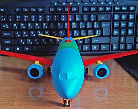 Boeing 737-800 Sharklet Landing gear down 3D print
