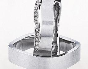 3D print model Wedding ring 172