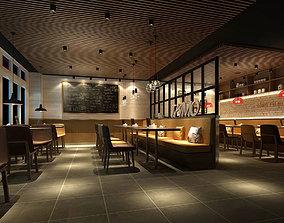 Light Restaurant teahouse cafe drinks clubhouse 256 3D