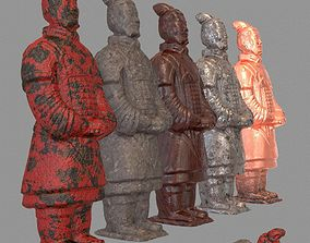 3D printable model Terracotta Warrior Variations