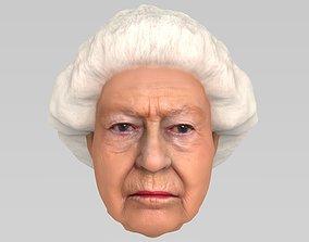 elizabeth Queen Elizabeth II 3D
