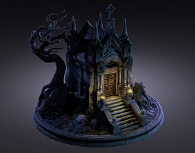 Old Crypt 3D asset realtime