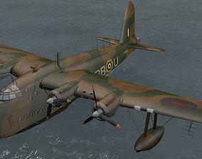 3D model Short Sunderland Mk-2
