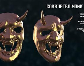 3D printable model Corrupted Monk Mask Sekiro Fan Art