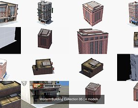 Modern Building Collection 05 3D