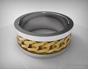 3D model Stainless Steel Ring