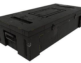 Weapon case box 3D asset